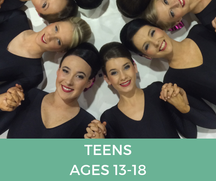 teens Classes at Template Physie - for girls and ladies 3 years old and up